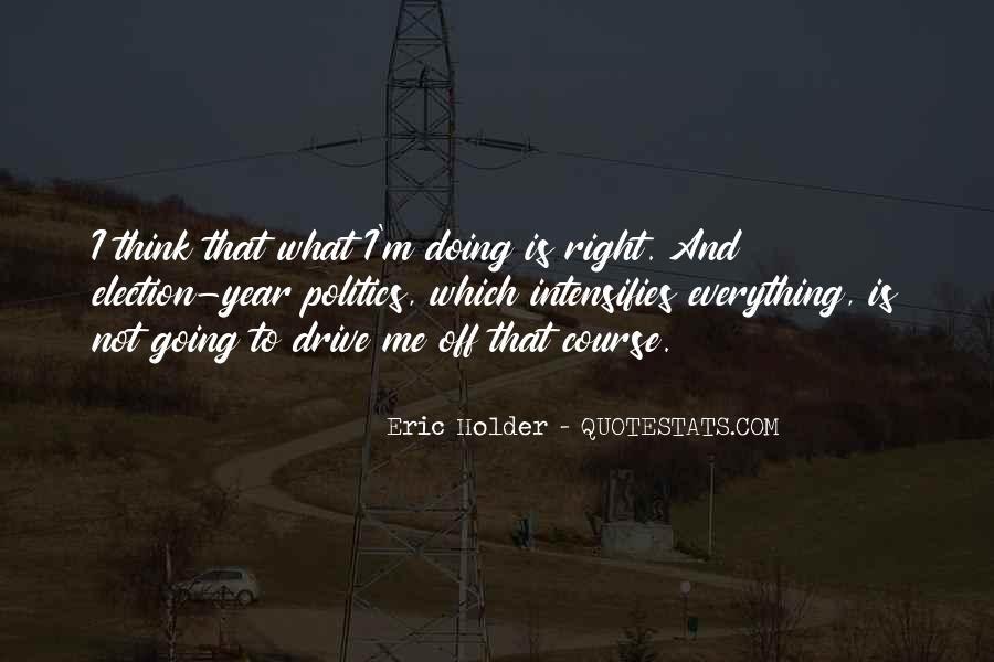 Eric Holder Quotes #1365362