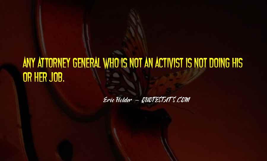 Eric Holder Quotes #140679