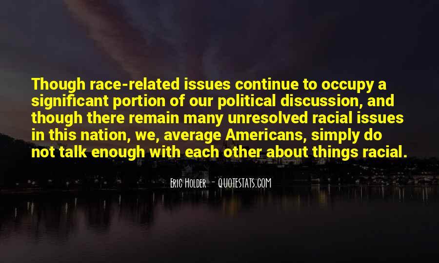 Eric Holder Quotes #1570849