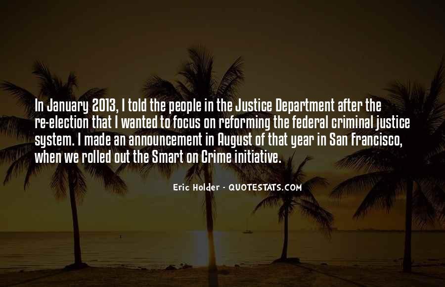 Eric Holder Quotes #1606502