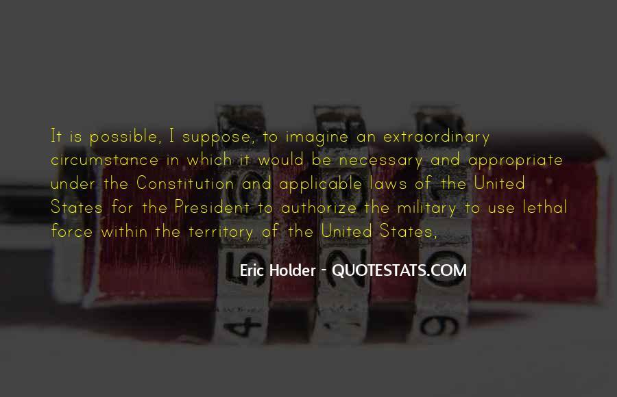 Eric Holder Quotes #1753541