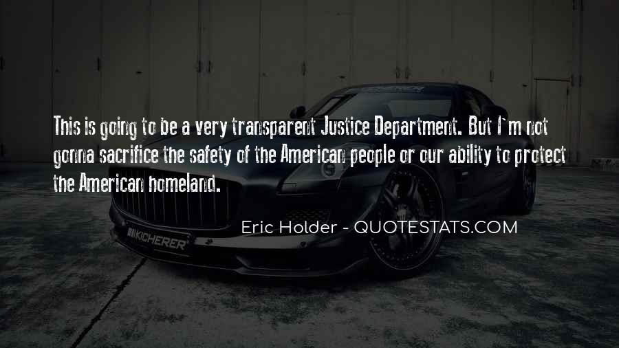 Eric Holder Quotes #1837942