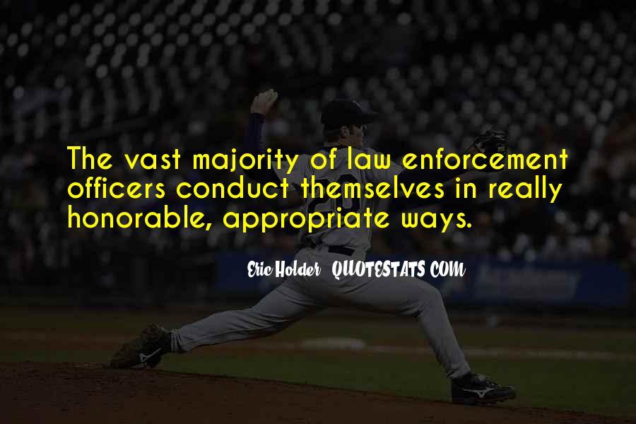 Eric Holder Quotes #213749