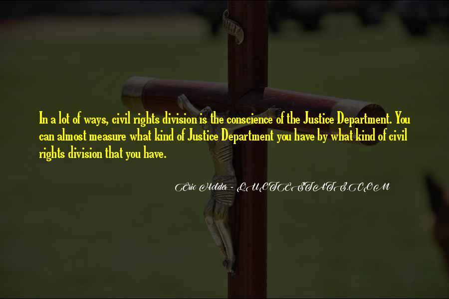 Eric Holder Quotes #220333