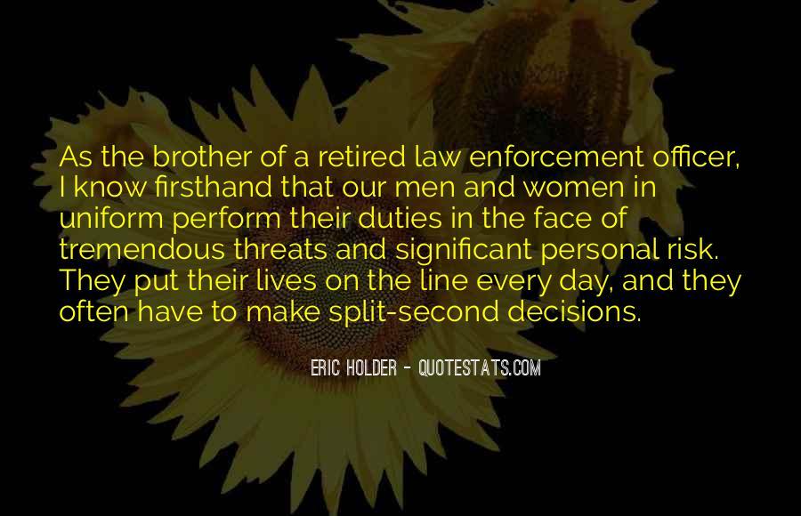 Eric Holder Quotes #253113