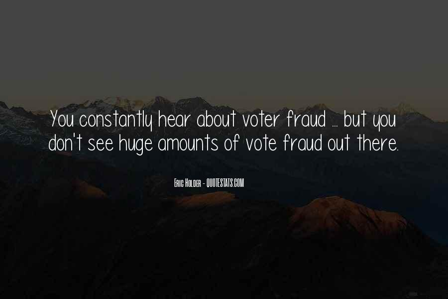 Eric Holder Quotes #353862