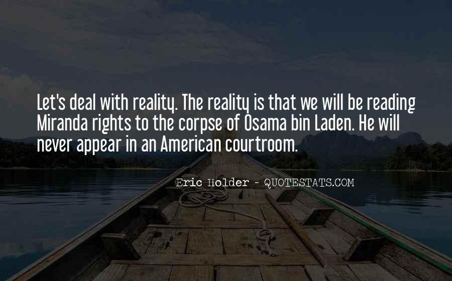 Eric Holder Quotes #409628