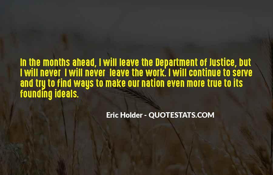 Eric Holder Quotes #455065