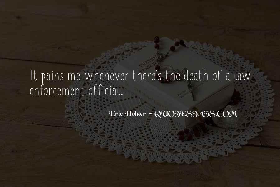 Eric Holder Quotes #517224