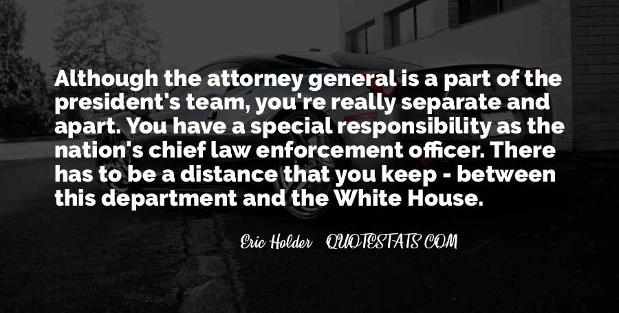 Eric Holder Quotes #695388