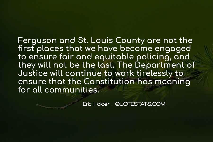 Eric Holder Quotes #716174