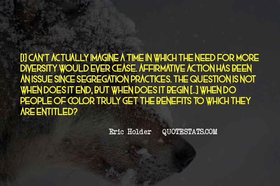 Eric Holder Quotes #735423