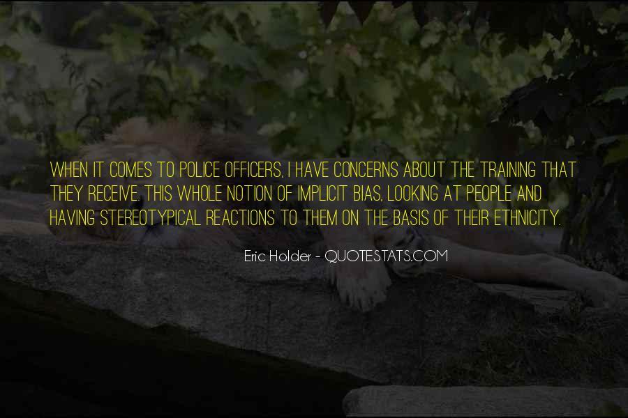 Eric Holder Quotes #799329