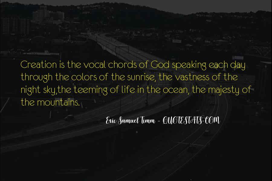 Eric Samuel Timm Quotes #1385603