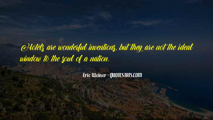 Eric Weiner Quotes #1082962