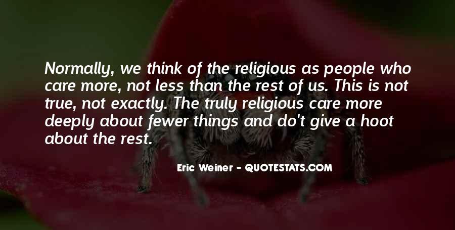 Eric Weiner Quotes #1136043