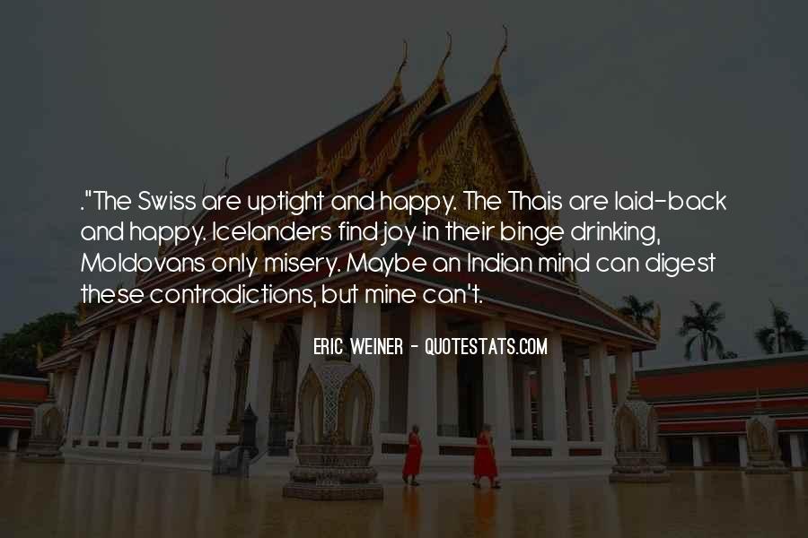 Eric Weiner Quotes #1158601