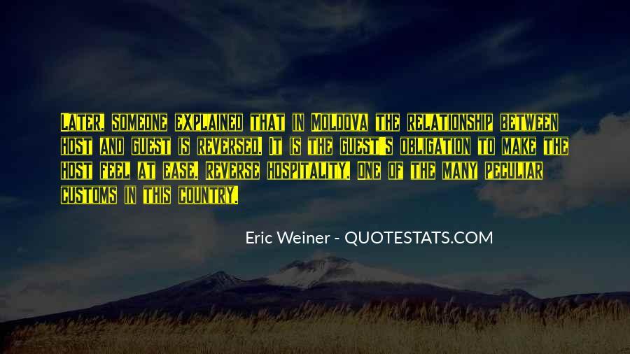 Eric Weiner Quotes #1257330