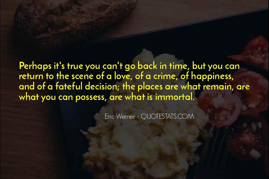 Eric Weiner Quotes #1359780