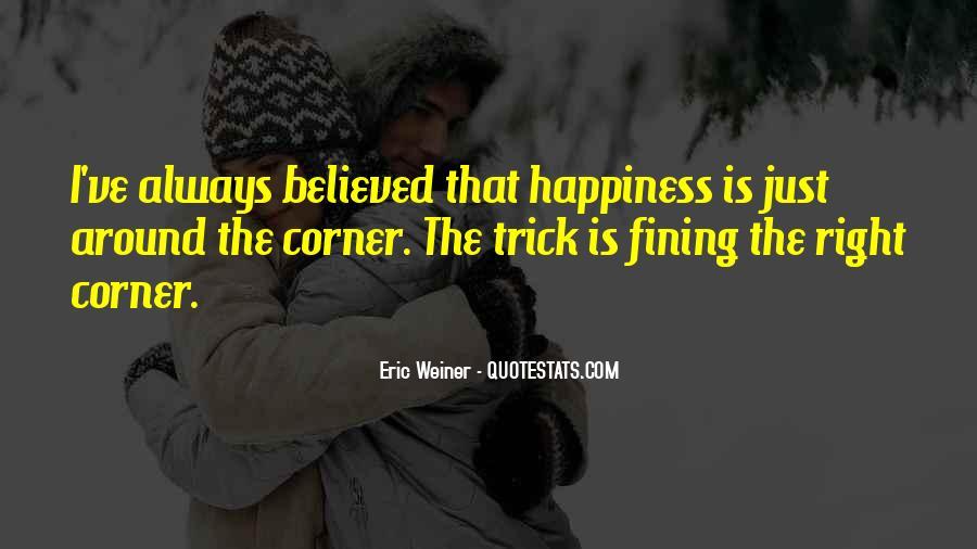 Eric Weiner Quotes #1453356