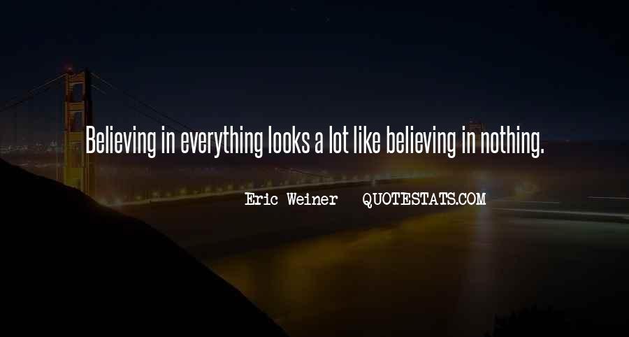 Eric Weiner Quotes #1482999