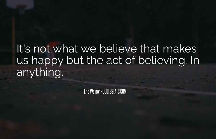 Eric Weiner Quotes #1504791