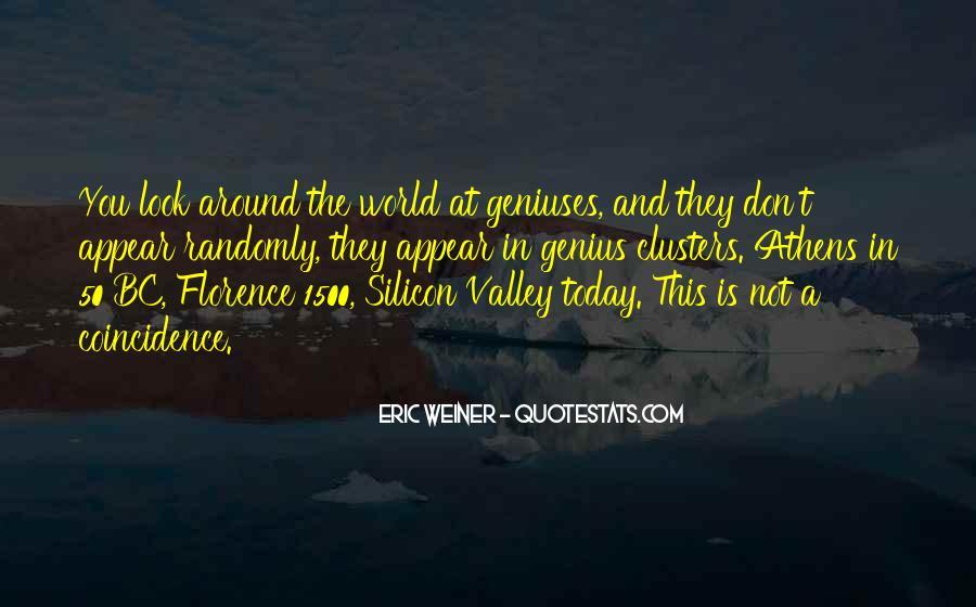Eric Weiner Quotes #150574