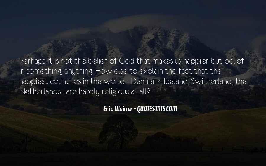 Eric Weiner Quotes #289275