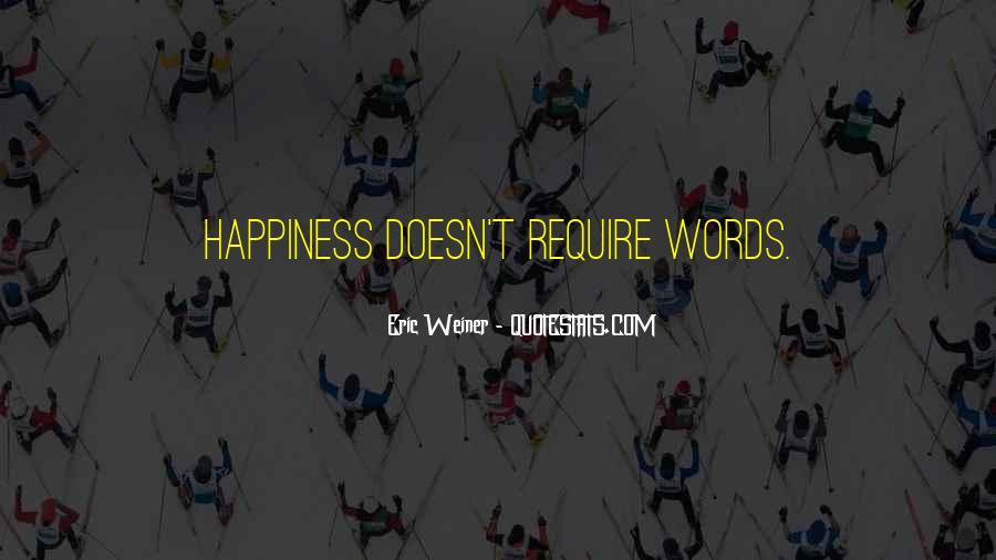 Eric Weiner Quotes #312908