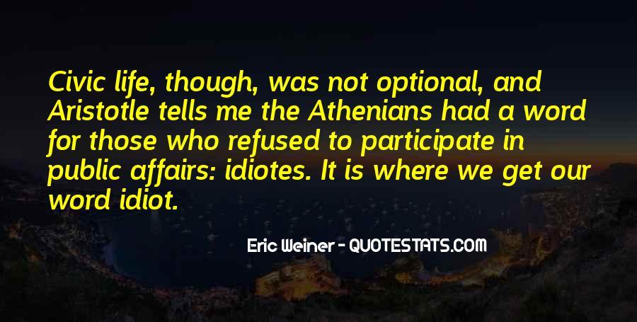 Eric Weiner Quotes #381536