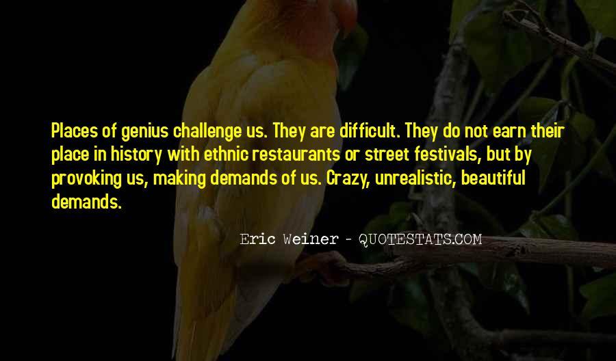 Eric Weiner Quotes #680804