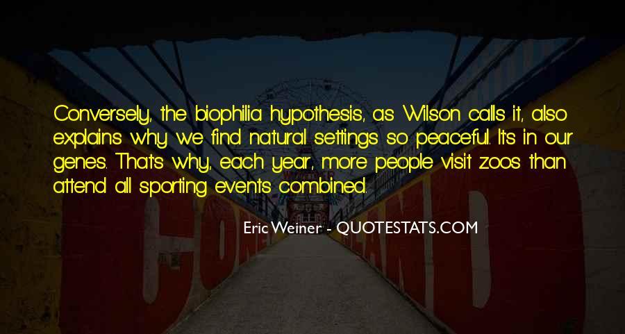 Eric Weiner Quotes #694524