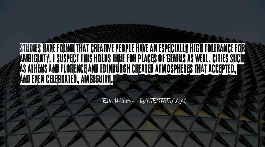 Eric Weiner Quotes #752589