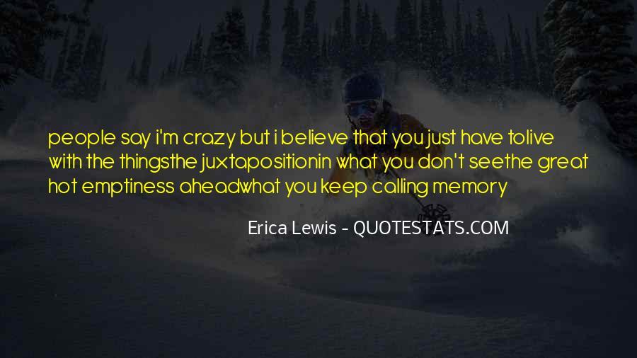Erica Lewis Quotes #65999