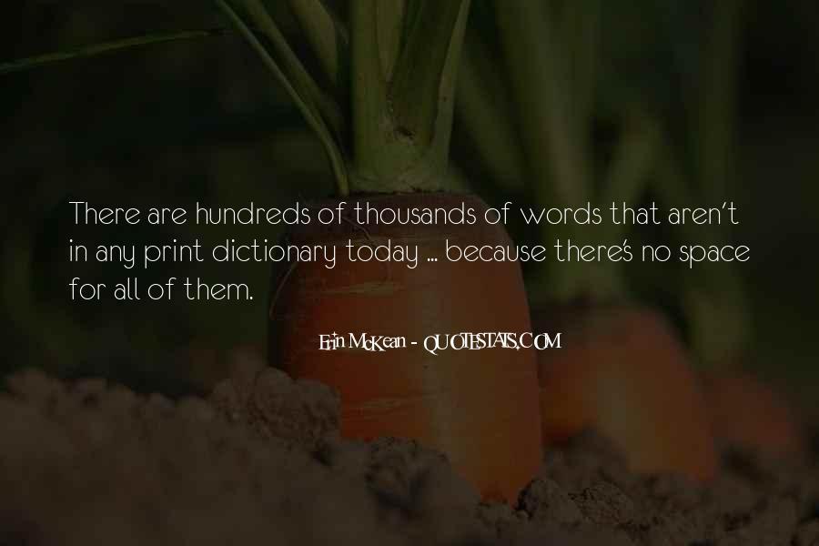 Erin McKean Quotes #712691