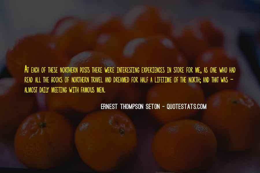 Ernest Thompson Seton Quotes #710962