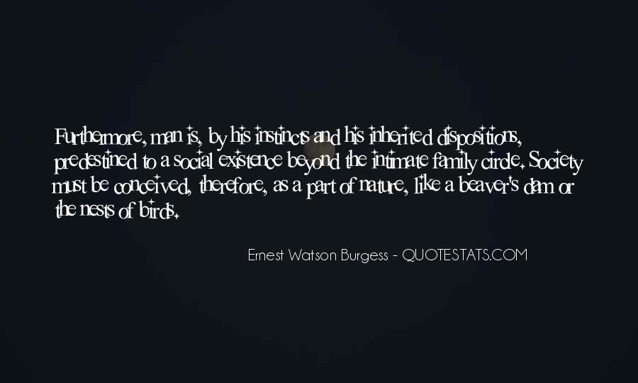 Ernest Watson Burgess Quotes #1094842