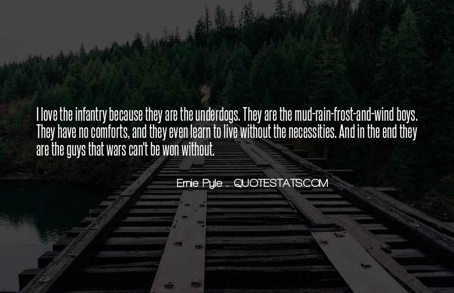 Ernie Pyle Quotes #1010659