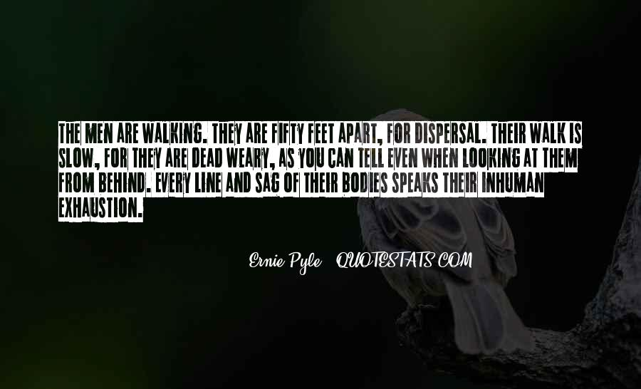Ernie Pyle Quotes #125655