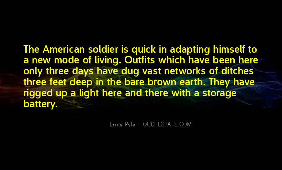Ernie Pyle Quotes #553592
