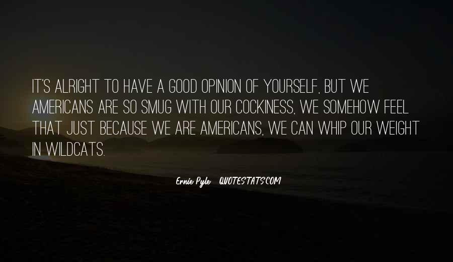 Ernie Pyle Quotes #724495