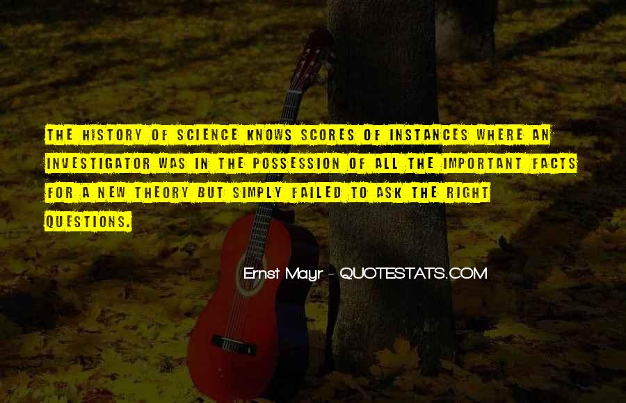 Ernst Mayr Quotes #1194878