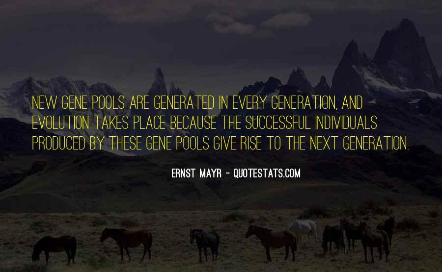 Ernst Mayr Quotes #1596138