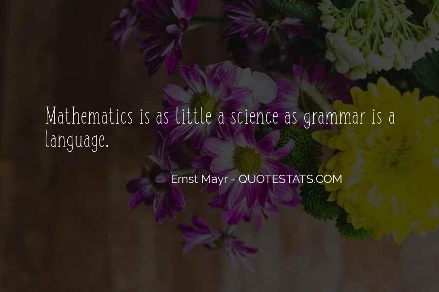 Ernst Mayr Quotes #306085