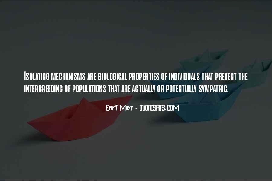 Ernst Mayr Quotes #504639