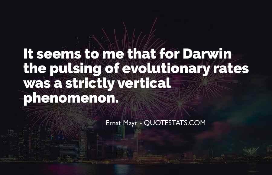 Ernst Mayr Quotes #525575