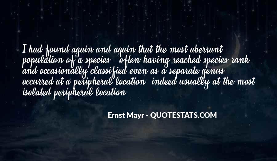 Ernst Mayr Quotes #542303