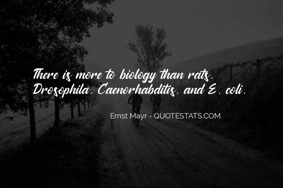 Ernst Mayr Quotes #559291