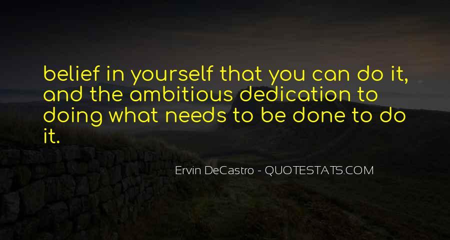Ervin DeCastro Quotes #412656