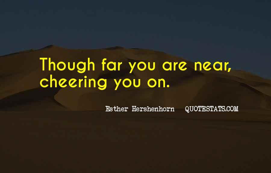 Esther Hershenhorn Quotes #1689106
